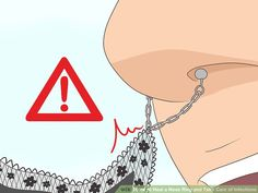 How to Heal a Nose Ring and Take Care of Infections: 13 Steps Nose Piercing Tips, Lip Piercing Labret, Double Cartilage Piercing, Cute Ear Piercings, Multiple Ear Piercings, Peircings, Tongue Piercings, Cartilage Piercings, Piercing Ideas
