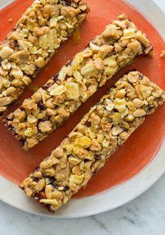 Peanut Butter & Jelly Potato Chip Bars | Spoon Fork Bacon