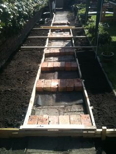 (Ground works) Traditional Victorian Path During works