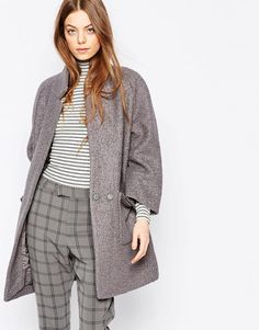 Ganni | Ganni Coat with Oversize Pockets at ASOS