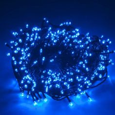 10M Warm White LED String Flash Lights 8 Models Battery Operated