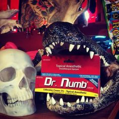 Eraze Laser Clinic is providing Dr. Numb – Tattoo Removal Numbing Cream Online.