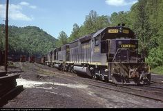 RailPictures.Net Photo: CRR 3609 Clinchfield Railroad EMD SD45-2 at Dante, Virginia by Kyle Korienek Collection