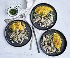 Züri Gschnätzlets Sauce Crémeuse, Iron Pan, Ethnic Recipes, Food, Meat, Homemade, Kitchens, Roasts, Kochen