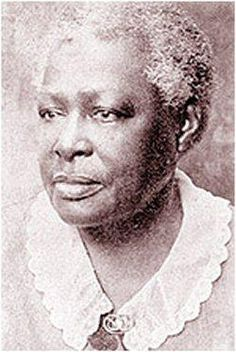 """Lucy Craft Laney:  """"After teaching 10 years... in 1883 she opened her own school in the basement of Christ Presbyterian Church in Augusta, Georgia. Among the graduates of Haines Institute were Mary McLeod Bethune, Charlotte Hawkins Brown, Nannie Helen Burroughs, Joseph Simeon Flipper, & Frank Yerby. Because of her work in education, she was one of the first African Americans to have her portrait displayed in the state capital in Atlanta."""" Found on African Heritage City on Facebook"""