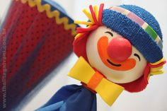 Thalita Galvani - Design em convites, lembranças e festas Crafts, Clown Nose, 2 Year Anniversary, Kids Part, Early Education, Sewing Toys, Goodies, Hipster Stuff, Manualidades