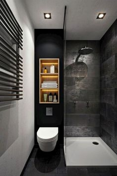 A master bathroom with a whirlpool tub, a rainfall showerhead, heated floors and his and her sinks is great for some, but oftentimes, space and budget concerns bring most of us back down to earth. We…MoreMore #RemodelingIdeas