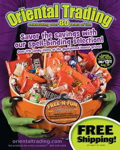 tons of halloween stuff at oriental trading on catalog spree - Halloween Catalog