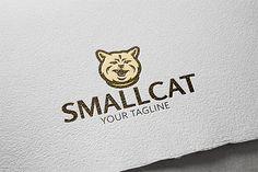 Cat Animal Logo. By Steinar Logo on @creativemarket