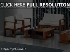 kursi kayu minimalis berbalut warna putih