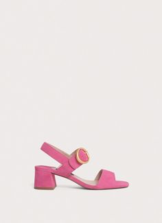 Pink buckled sandals - View all - New in - Uterqüe United Kingdom