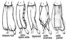Secret Infatuation with Harem Pants.