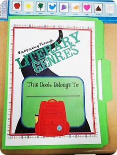 Backpacking Through Genres: A great way to teach all of those literary genres in your classroom!