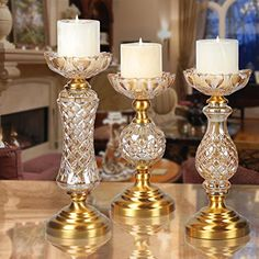 Candlestick Candle Holder Candelabrum Romantic candlelight dinner props Iron Decoration European WeddingA small candlestick >>> Be sure to check out this awesome product. (This is an affiliate link) Cheap Candle Holders, Candle Holders Wedding, Glass Candle Holders, Centerpiece Decorations, Decoration Table, Wedding Decorations, Chandeliers, Romantic Wedding Decor, Wedding Flowers