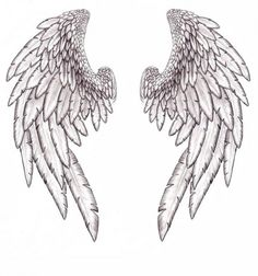 Wings Tattoo By Annikki
