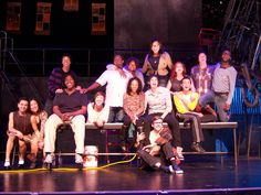 "Cast of San Diego Musical Theatre's ""RENT"" 6/22-7/8, Birch North Park Theatre"