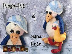 Pinguin - Pit, eine Häkelanleitung von DaDaDe