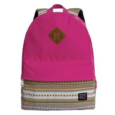 Icon Canvas Pink Travel Backpack for Women Casual Outdoor Daypack Bookbag for College * For more information, visit image link.