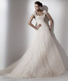 Beautiful A-Line Wedding Dresses 2011