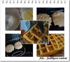 Domácí křupavé vafle
