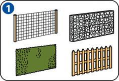 Samodzielny montaż ogrodzenia lub ekranu ogrodowego pozwala zaoszczędzić sporo pieniędzy. Tutaj można znaleźć informacje pomocne przy stawianiu ogrodzenia.