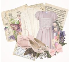 """Dreamy romance"" by minuitpoison ❤ liked on Polyvore"