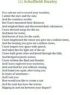 #spoonriveranthology#edgarleemasters#scholfieldhuxley#poem#poetry