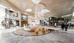 Nordic lighting design delights shoppers at Mall of Scandinavia - Do Business - ÅF Shopping Mall Interior, Shopping Malls, Design Furniture, Cheap Furniture, Wooden Furniture, Furniture Ideas, Furniture Online, Furniture Companies, Lighting Concepts
