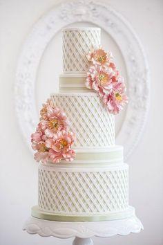 wedding cake jardin anglais Carnet d'inspiration mariage Mademoiselle Cereza