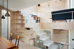 [협소주택] 7평 2층집에 이유 있는 7개의 바닥 : 네이버 블로그