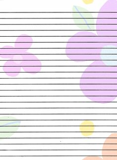 Ruled Paper With Two Columns  Printables  Lists