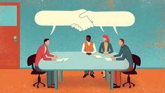 Editorial Illustrations by Davide Bonazzi