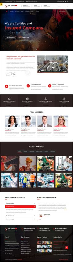 Factory Plus is the best responsive 9in1 #WordPress Theme specifically made for some sectors like #industry, Factories, #Construction, Engineering, Machinery Business, Commodity Business, Power, Rail Business, Airplane, Ship Business, Oil & Gas Business, Petroleum websites download now➩ https://themeforest.net/item/avonmore-premium-creative-multipurpose-wordpress-theme/17364678?ref=Datasata