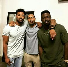 Black men Michael B Jordan Omari Hardwick Lance Gross Fine Black Men, Gorgeous Black Men, Handsome Black Men, Black Boys, Fine Men, Beautiful Men, Black Man, Beautiful People, Beautiful Moments