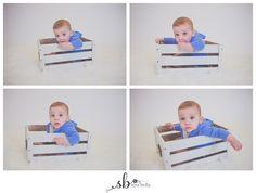 baby, boy, studio, photography, portrait, new bern, sera bella photography, nc, 6 months old