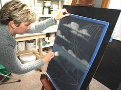 HOW TO paint window screens