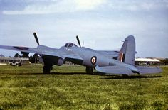 Mosquito on the Mount Farm, 1945.