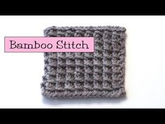 ▶ Fancy Stitch Combos - Bamboo Stitch - YouTube