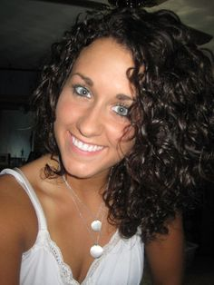 Lucky to be Curly! - Brunette, 3a, Medium hair styles, Readers, Female, Curly hair Hairstyle Picture