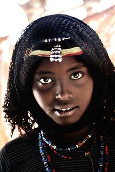Afar girl, Ethiopia
