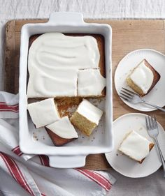 Here is a cake that you can feel really great about making for your family. It's sweetened with honey, has a velvety tender crumb, and the frosting is just sweet enough without being over-the-top.