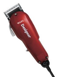 "Wahl Designer Clipper -This Wahl Clipper runs at twice the speed of pivot motor clippers.  Features: Variable taper and texture high precision blades, 6 cutting guides  Includes: professional clipper, 6 cutting guides (1/8"" to 1""), styling comb, oil, cleaning brush, blade guard and operating instructions. #ABBS #Atlanta #barber #supplies #wahl #designer #clippers"