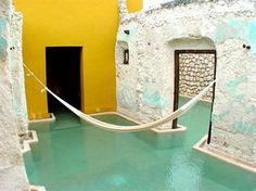 The pool in my dreams. Campeche, Mexico.