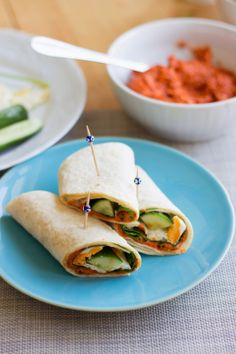 ... the world cuisine: Muhammara wraps / Suktinukai su muhammara More
