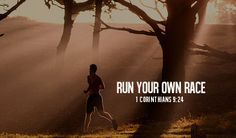 horse picture with bible verse about racing | Run your own race :: iBibleverses - Devotional :: Collection of ...