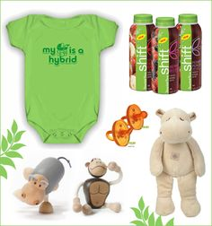 Throw an Eco-Chic Baby Shower // Hostess with the Mostess®