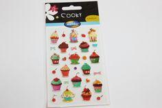 Sticker  Cooky Cupcakes von Perlenblitz auf DaWanda.com
