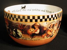 Bethany Lowe Designs - Halloween Memories Bowl