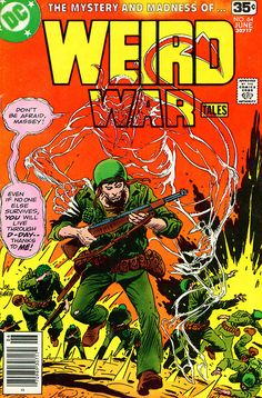 Weird War Tales #64, June 1978, cover by Joe Kubert
