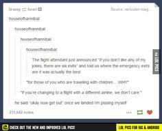 It'd be great if all flight attendants were like that